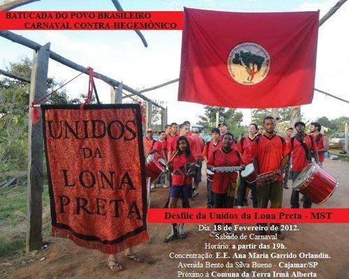 Unidos da Lona Preta se apresenta neste sábado em Cajamar (SP)