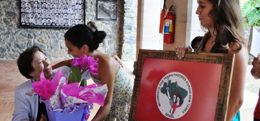 MST faz homenagem a lutadora internacionalista Renée de Carvalho