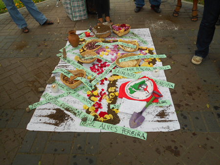 Movimentos Sociais do Peru realizam ações relembrando o Massacre de Carajás