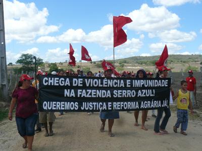 Campanha internacional denuncia violência contra Sem Terra em Pernambuco