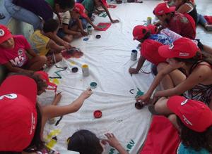 Confira o vídeo e as fotos do Encontro dos Sem Terrinha no Ceará
