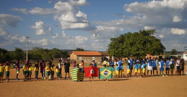 Assentamento Marrecas sedia final de campeonato de futebol no Piauí