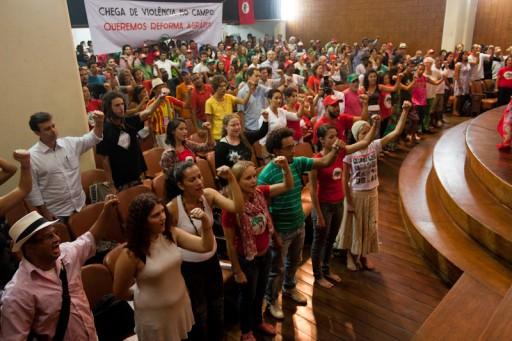 Ato pela Reforma Agrária no Rio de Janeiro marca início da Jornada de Lutas