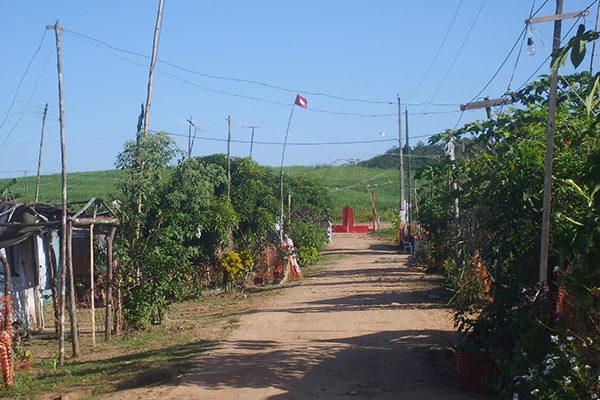 Acampamento Mário Lago comemora 10 anos de luta contra o agronegócio
