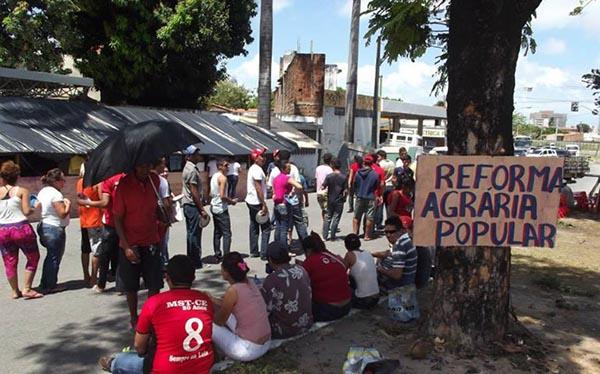 Ofensiva do judiciário concede ordem de despejo a sete acampamentos no Ceará