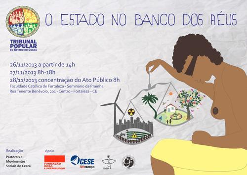 Pastorais e Movimentos Sociais realizam 2° Tribunal Popular do Ceará