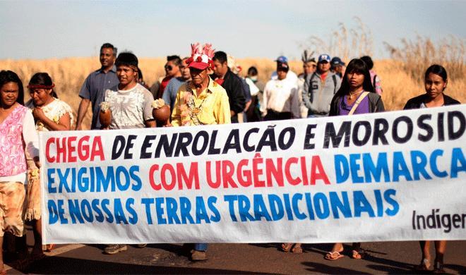 Um ano após a dramática carta dos Guarani Kaiowá nada mudou