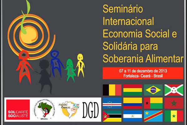 Ceará sedia Seminário Internacional de Economia Social e Solidária