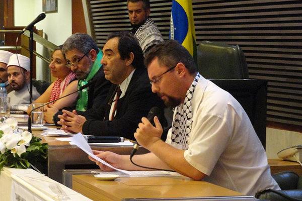 MST participa da semana de solidariedade ao povo palestino