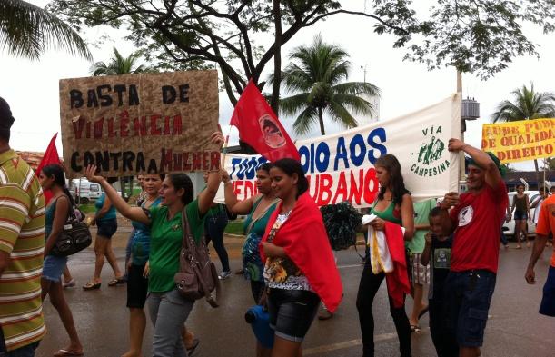 Mulheres camponesas fazem luta unificada em Rondônia