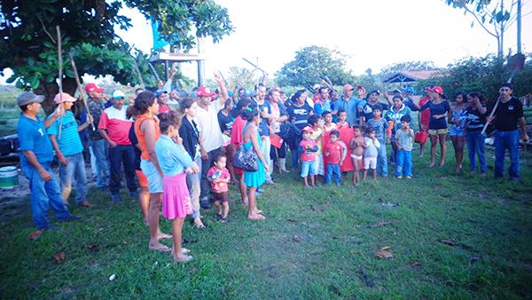 Famílias do MST ocupam Fazenda Novo Mundo em Araguatins (TO)