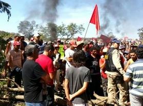 Cerca de 700 Sem Terra trancam rodovia por 12 horas em Tocantins