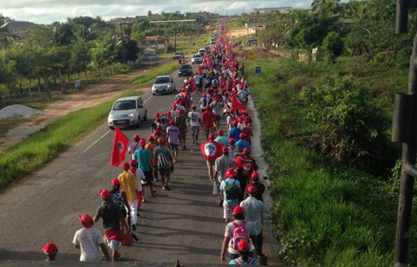 Marcha na Bahia luta pela Reforma Agrária e contra impunidade no campo