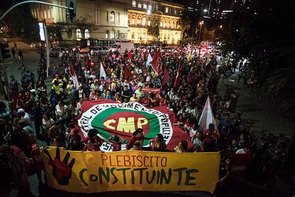 Em todo o país, milhares saíram às ruas na luta pelo Plebiscito Constituinte