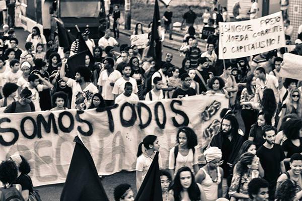 Marcha contra genocídio negro mobiliza trabalhadores do campo e cidade
