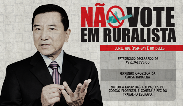 Junji Abe, o ruralista conciliador