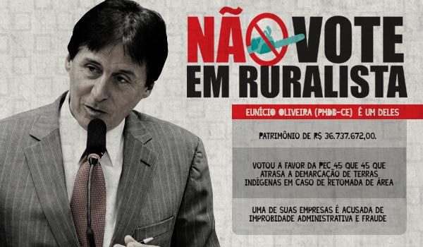 Eunício Oliveira: ruralista, empresário, ministro das comunicações