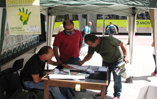 Plebiscito Popular pela Constituinte inicia a apuração de votos