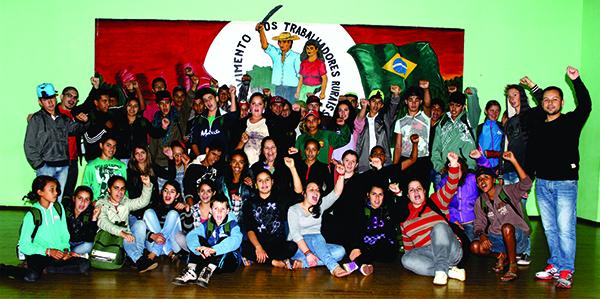 Juventude Sem Terra realiza curso de formação no Rio Grande do Sul
