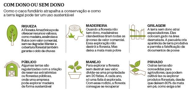 Sem regularização das terras, Amazônia vive caos fundiário