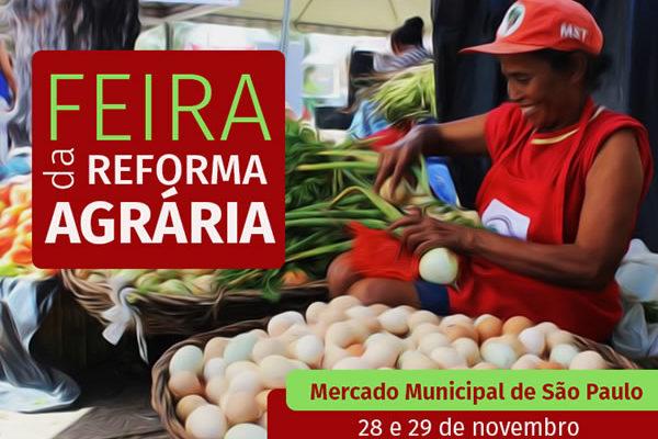 Mercado Municipal de São Paulo recebe Feira da Reforma Agrária