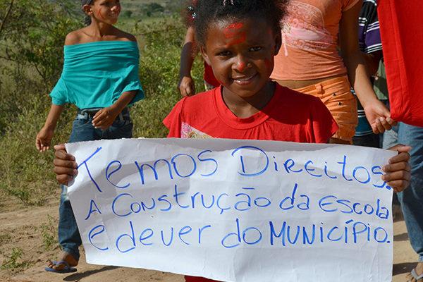 Sem Terrinha protagonizam lutas na defesa da educação em Alagoas