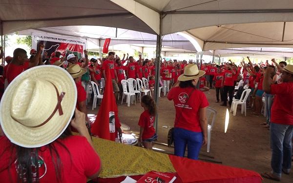 Sem Terra da Paraíba comemoram 30 anos do MST e 25 no estado