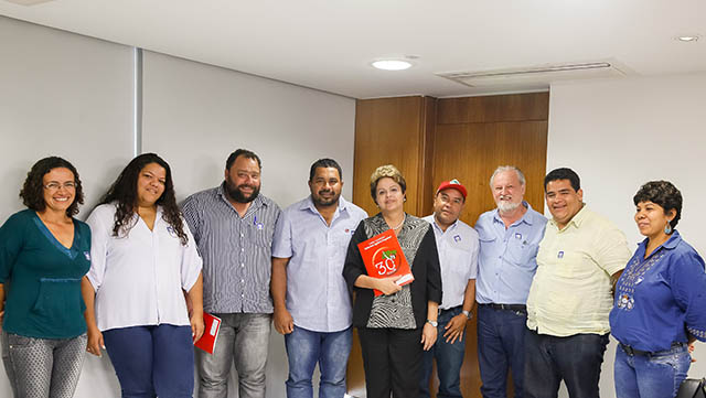 Em audiência com Dilma, MST cobra políticas emergenciais para o campo