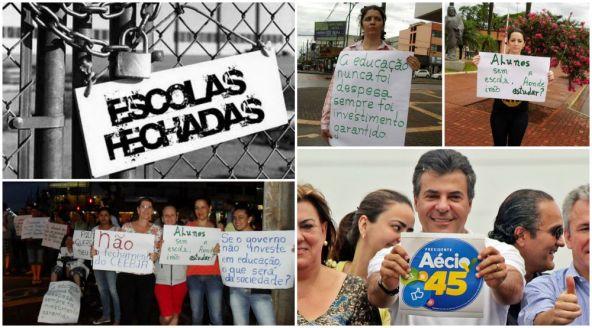 De volta das férias no Caribe, Beto Richa manda fechar escolas no Paraná