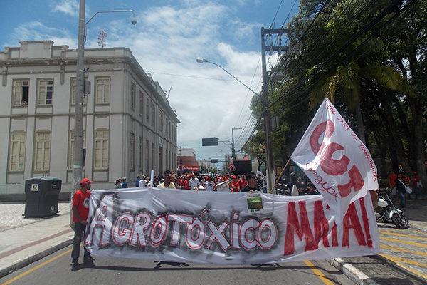 Em Aracaju, diversas organizações saem às ruas pelo fim dos agrotóxicos