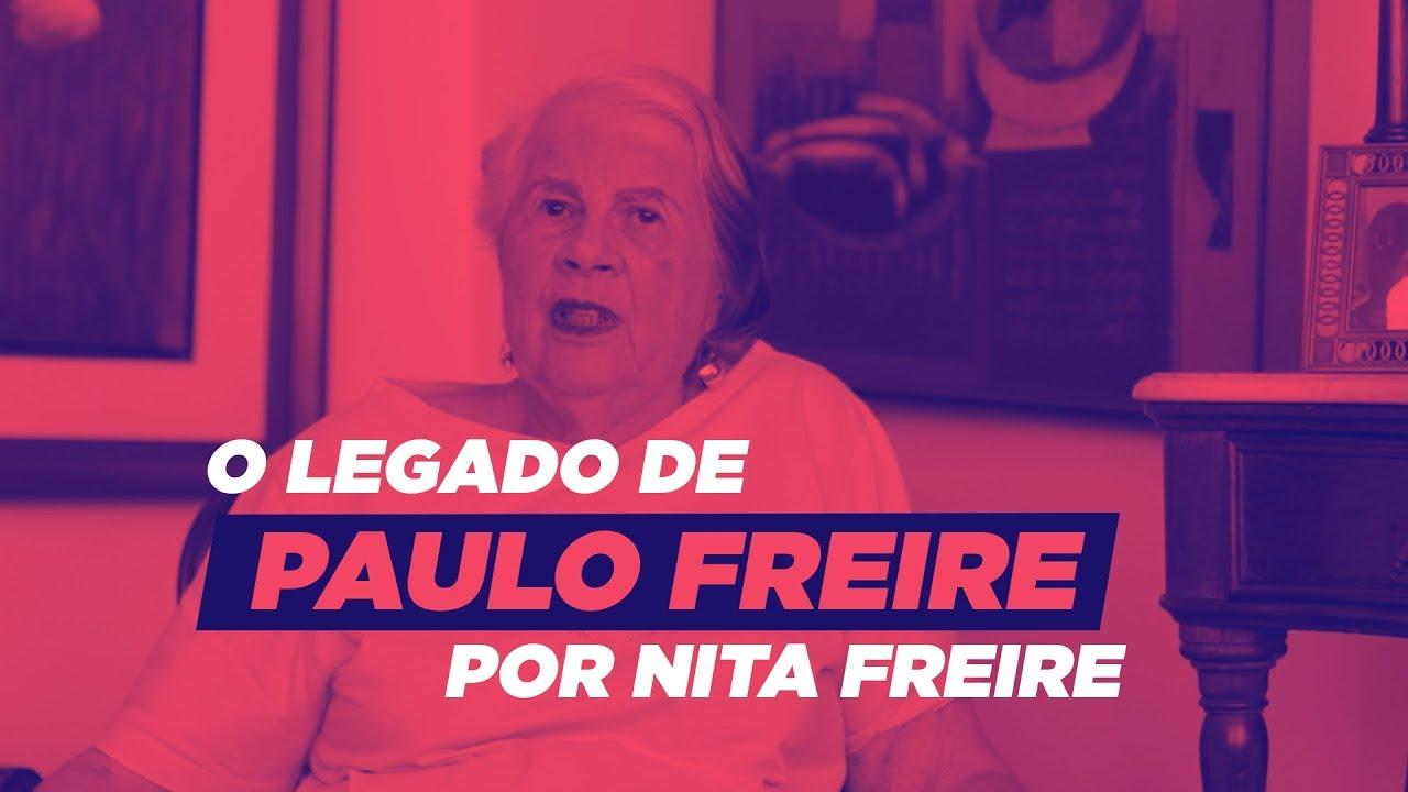 Nita Freire fala a mensagem de Paulo Freire