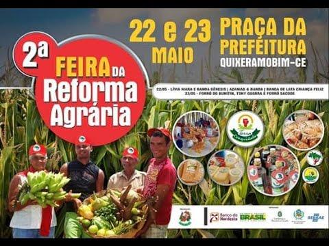 2° Feira da Reforma Agrária de Quixeramobim