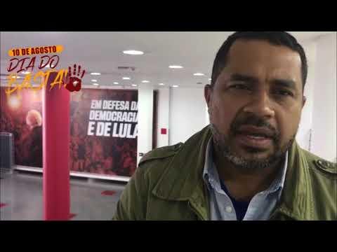 João Paulo Rodrigues convoca para o Dia do Basta, impulsionado pelas centrais sindicais