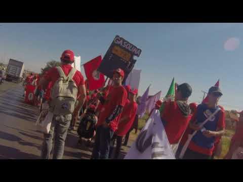 Bom dia Marcha Nacional Lula Livre Coluna Prestes