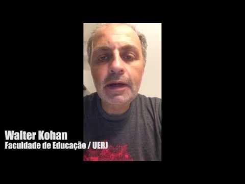 Walter Kohan em apoio aos Sem Terrinha - Educação do campo é um direito!