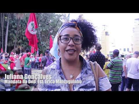 MST realiza Ato Público em Defesa da Feira Nacional da Reforma Agrária