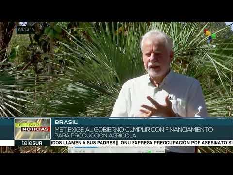 Sin ayuda del gobierno, MST impulsa la agroecología en Brasil