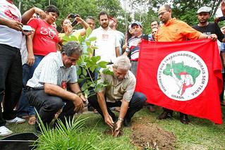 Lula visita ENFF e defende atuação dos movimentos sociais no Brasil