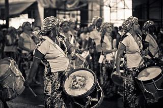 Ilú Obá de Min se prepara para fazer carnaval popular em São Paulo