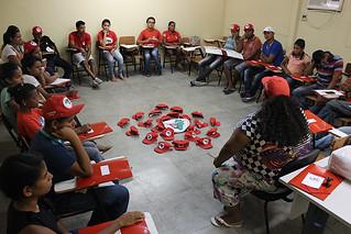 Juventude se organiza para fortalecer a luta pela Reforma Agrária Popular