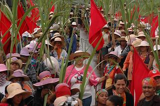 Prestes a irem à luta, camponesas prometem enfrentar o agronegócio