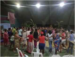 No Mato Grosso, 300 mulheres lutam e estudam durante jornada