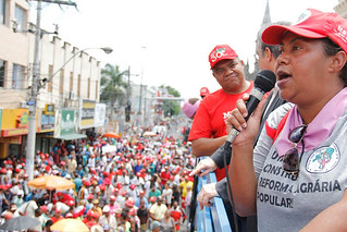 Na Bahia, trabalhadoras Sem Terra protagonizam luta durante Marcha