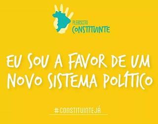 Campanha pelo Plebiscito Oficial covoca ato em Brasília