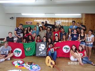Juventude Sem Terra realiza curso de formação em Veranópolis