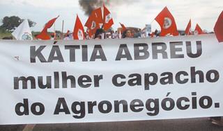 Kátia Abreu é processada por dívida com BNDES