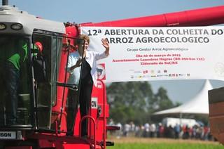 Para Dilma, o Brasil tem de saber que a agroecologia é possível