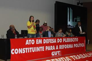 Movimentos se mobilizam para impedir contrarreforma política