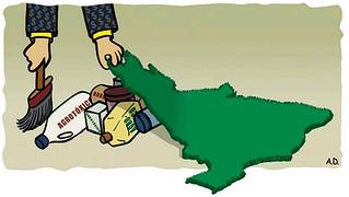 """ruralistas tentam """"legalizar a contaminação"""""""