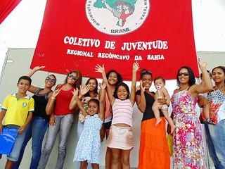 Juventude Sem Terra se compromete em fortalecer a luta na Bahia